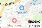 Схема проезда до компании Премьер в Барнауле
