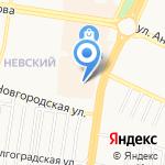 Burger Club на карте Барнаула