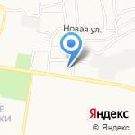 Анга на карте Барнаула
