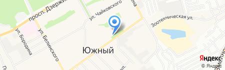 СИБСОЦБАНК на карте Барнаула