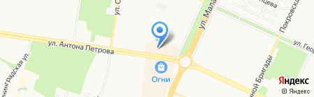 Light print на карте Барнаула