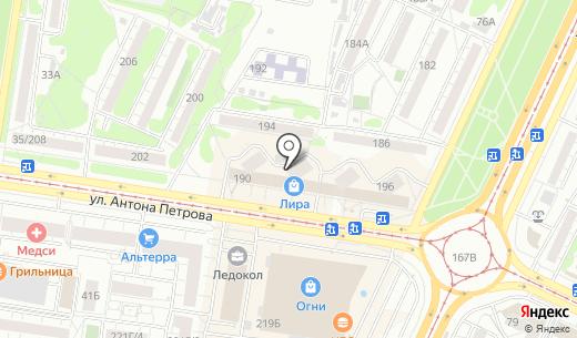 Кабинет косметолога Шушуновой Т.Н.. Схема проезда в Барнауле