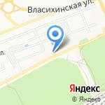 Ленточный бор на карте Барнаула