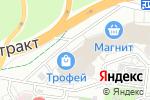 Схема проезда до компании Пятый элемент в Барнауле