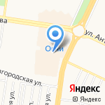 Casanova на карте Барнаула