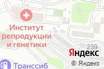 Схема проезда до компании Аргон в Барнауле