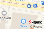 Схема проезда до компании Евросервис в Барнауле
