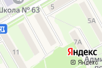 Схема проезда до компании SEOcut в Барнауле