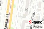 Схема проезда до компании Татьянин день в Барнауле
