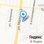 Хмель на карте Барнаула