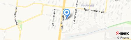 СКОПАС на карте Барнаула