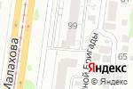 Схема проезда до компании Профи Сервис в Барнауле