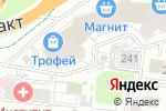 Схема проезда до компании Трио, ТСЖ в Барнауле