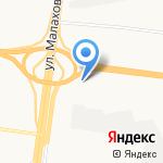 А-Класс на карте Барнаула