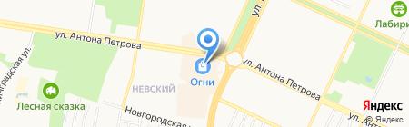 FunDay на карте Барнаула