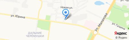 Люкс на карте Барнаула