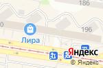 Схема проезда до компании КрепЦентр в Барнауле