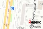 Схема проезда до компании Мебельная компания в Барнауле