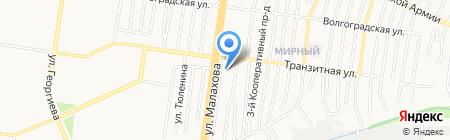 СТК на карте Барнаула