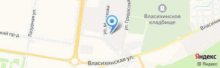 Авто Спас Алтай на карте Барнаула