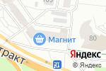Схема проезда до компании Магнит Косметик в Барнауле