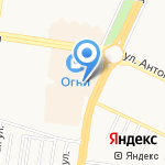 Шашлык-City на карте Барнаула