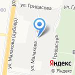 Химчистка ковров на карте Барнаула