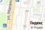 Схема проезда до компании Арт-Гранит в Барнауле