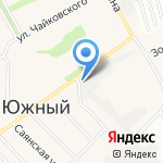 Айболит-Сервис на карте Барнаула