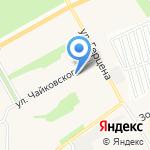 Алтай Мегаполис на карте Барнаула
