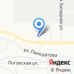 Алтайский архитектурно-строительный колледж на карте Барнаула