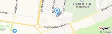 Автоэлектрик на карте Барнаула