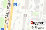 Схема проезда до компании Гаранта в Барнауле