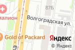 Схема проезда до компании Вензель в Барнауле