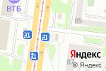 Схема проезда до компании Квартал в Барнауле