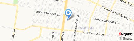 ПрофиРиэлт на карте Барнаула