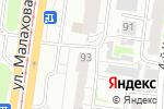 Схема проезда до компании АртДизайнСтрой в Барнауле