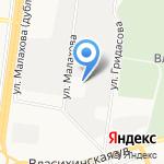 Пожарная часть №2 Индустриального района на карте Барнаула