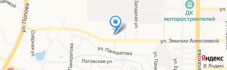 ААСК на карте Барнаула