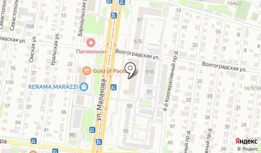 СТ-МЕД. Схема проезда в Барнауле