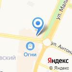 Штрих на карте Барнаула