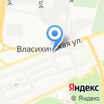 БАННО-ДАЧНЫЙ на карте Барнаула
