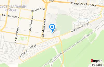Местоположение на карте пункта техосмотра по адресу г Барнаул, ул Власихинская, д 146Е