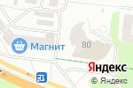 Схема проезда до компании Кариб в Барнауле