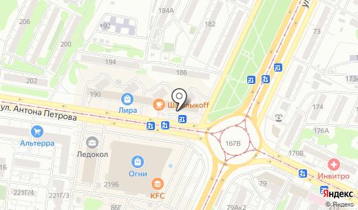K2 Sport. Схема проезда в Барнауле