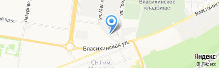Магазин автотоваров для Ford ВАЗ на карте Барнаула