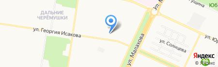 Лицей №124 на карте Барнаула