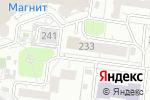 Схема проезда до компании ItX в Барнауле