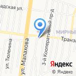 Панорама на карте Барнаула