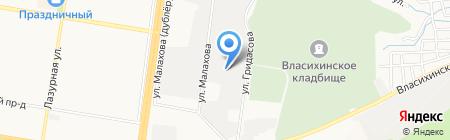 Оконный центр на карте Барнаула